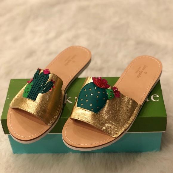 5c5b642eadb7 Kate Spade cactus slide sandal
